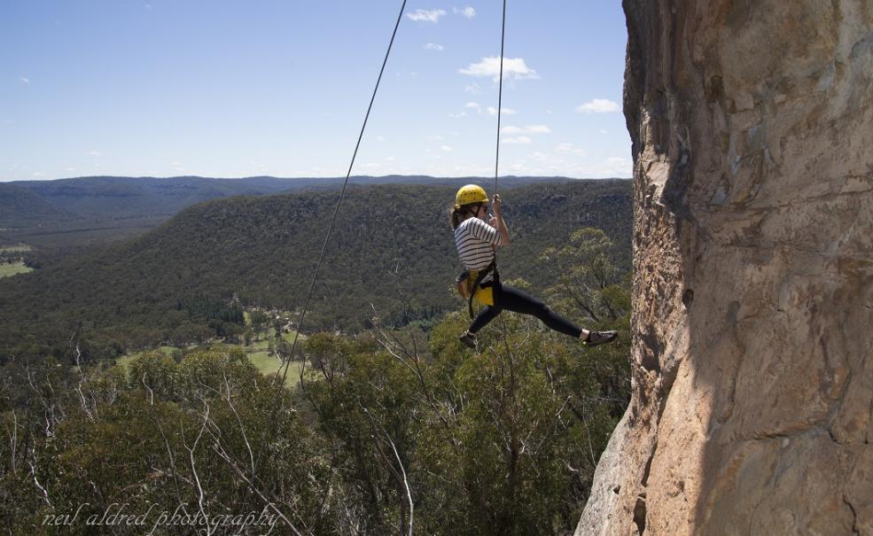 Blue Mountains Full day Abseiling and Rock Climbing Combination Adventure, Katoomba
