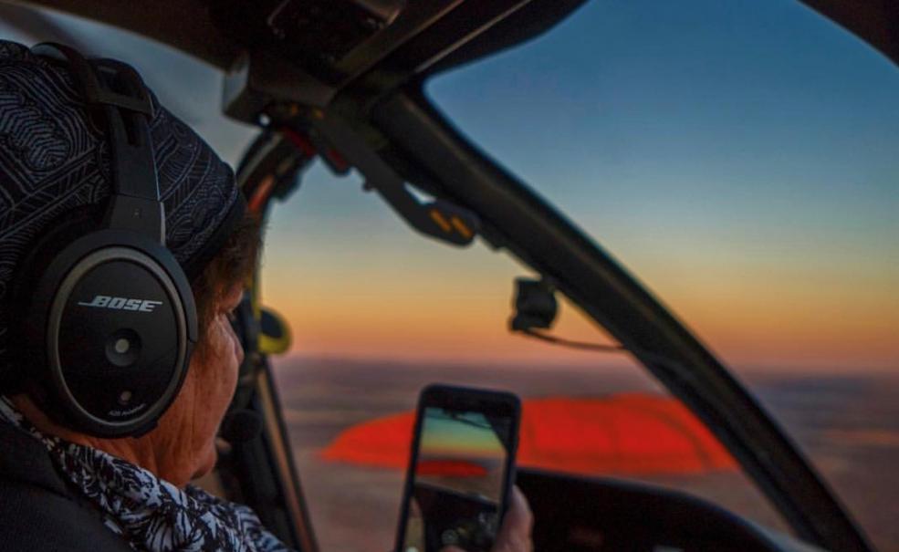 Uluru & Kata Tjuta Helicopter Experience, Uluru