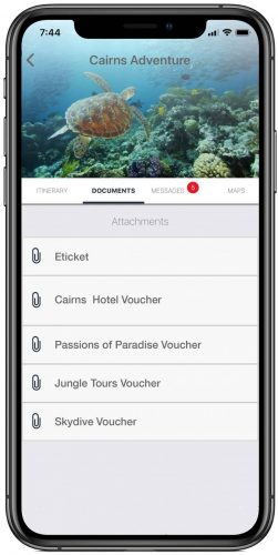 All document including tickets, vouchers and anything important stored in one place and accessible offline